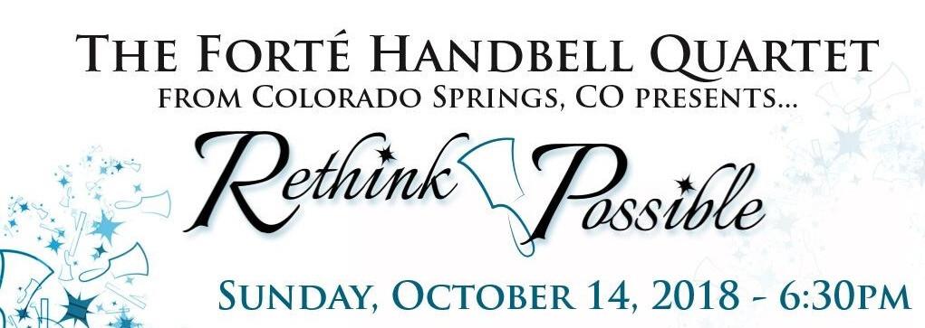 The Forte' Handbell Quartet in Concert