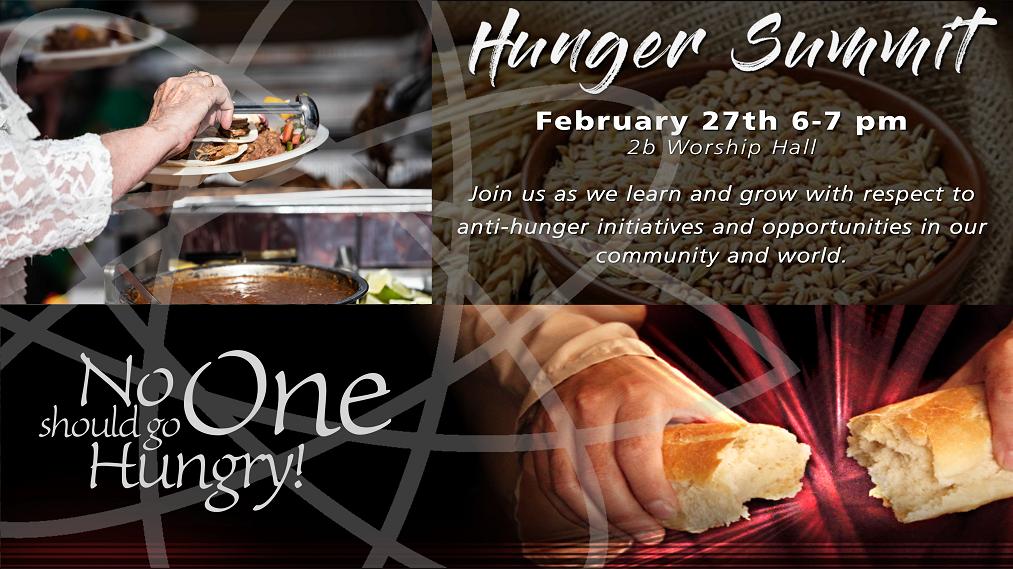 Hunger Summit