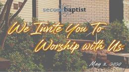 Worship Service - May 3, 2020