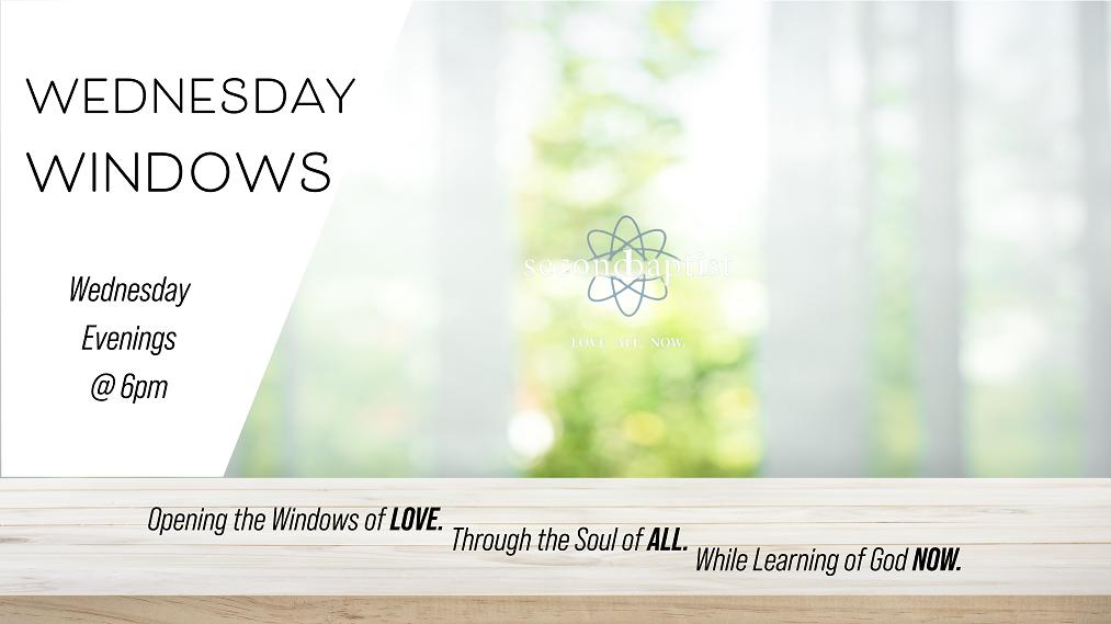 Wednesday Windows Classes